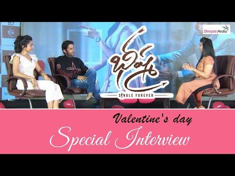 Nithin And Rashmika Valentine's Day Special Interview   Bheeshma Movie   Shreyas Media