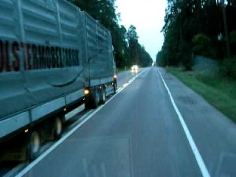berholen in polen lkw crazy overtaking in poland