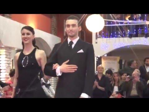 Andrea Vighi y Chiara Benati - finale Tango de Pista al Campionato Italiano a Roma 2016