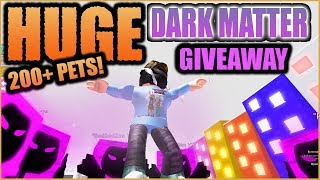 🍬 RIESIGE Dunkle Materie Giveaway - Roblox Event 🔴 DM Pets (Update #14) - Sub&Chat to Win!🌞
