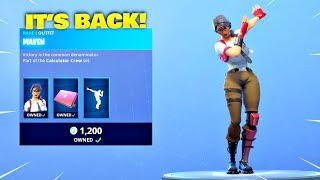 MAVEN SKIN & INFINITE DAB EMOTE IS BACK! Fortnite ITEM SHOP [May 20, 2019] | Fortnite Battle Royale
