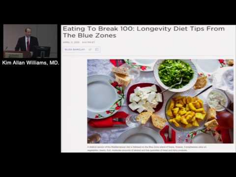 Nutrition and Cardiovascular Mortality (Kim Allan Williams, Sr., MD)