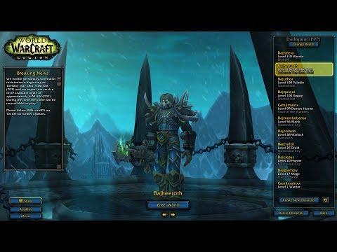 Bajheera - BAJHEEROTH RETURNS: Unholy DK PvP - WoW Legion 7.2.5 Death Knight