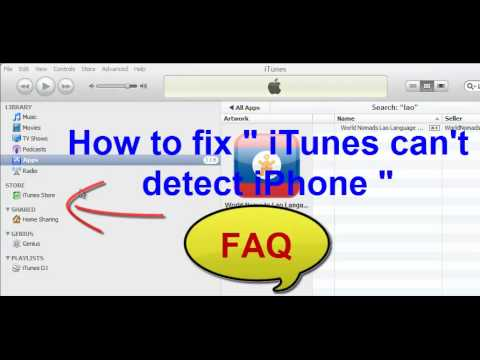itunes not detecting iphone how to fix quot itunes can t detect iphone quot 6782
