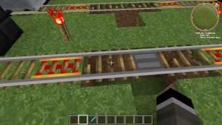 [Обзор] Продвинутый Railcraft (часть 1) - Рельсы и вагонетки - S2EP6