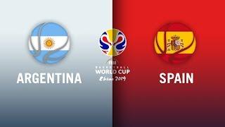 Argentina v Spain - Gold Medal Game Highlights | FIBA Basketball World Cup 2019