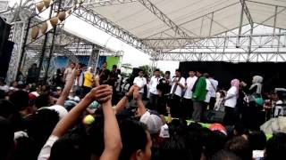 Kampanye subroto-nur yaman bersama new pallapa