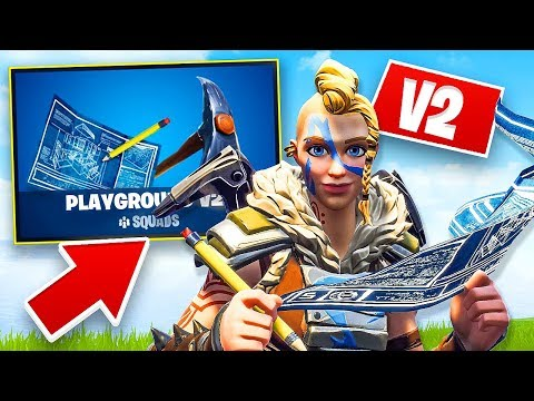 Playground Mode V2 in Fortnite!! (Fortnite Battle Royale)