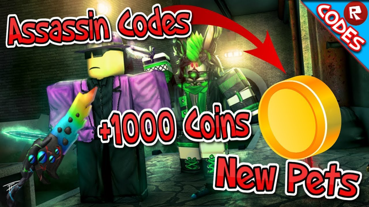 New Codes Assassin Halloween Event Roblox Youtube