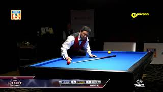 #4 Paul FRANKEL vs Michael KANG / 2018 USBA Three-Cushion Billiard National Championship