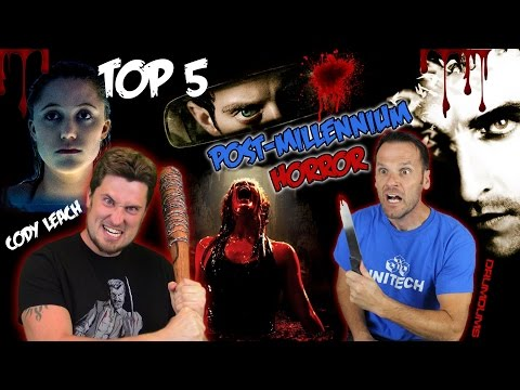 Drumdums TOP 5 Post Millennium HORROR MOVIES (w Cody Leach)