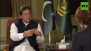 pakistan unfairly blamed for washingtons failures in afghanistan pm khan to rt