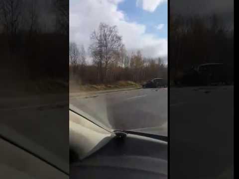 ДТП, Тобольск, трасса Тюмень  -Ханты-Мансийск, 249-й км. 15.10.16