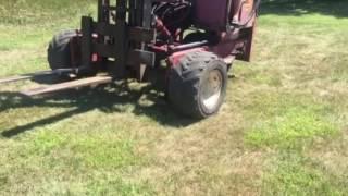 BigIron Online Auctions, Moffett Forklift, September 21, 2026
