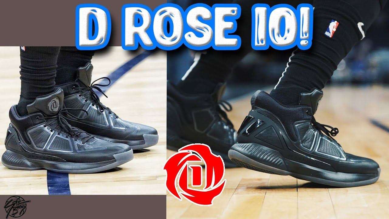 250f2cac7a9 Adidas D ROSE 10 Unveiled! - YouTube
