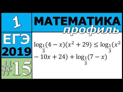 15 задание ЕГЭ по математике профиль. №2
