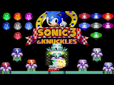 sonic advance 3 how to get chaos emeralds