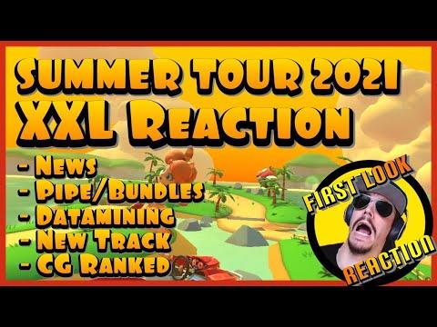 SUMMER TOUR REACTION | News, Ranked, Pipe, Datamining, Carlosgang results |Mario Kart Tour