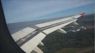 полёт на самолёте А-319 Москва-Сочи(Адлер)(, 2012-11-04T17:21:23.000Z)