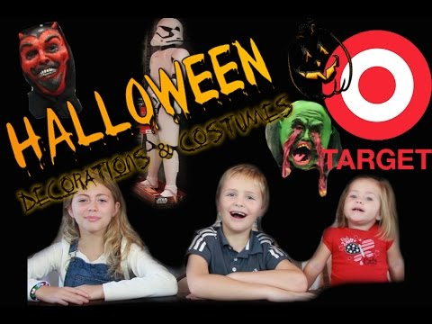 HALLOWEEN COSTUMES AND DECORATIONS AT TARGET YOU HAVE TO SEE!