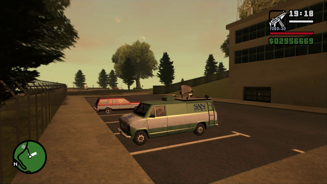GTA San Andreas: SilentPatch - New vehicle animations