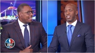 Paul Pierce, Chauncey Billups debate which Warriors deserve statues   NBA Countdown