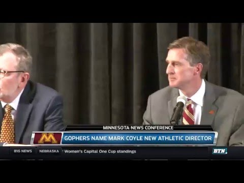 Minnesota Press Conference - Mark Coyle Introduced as AD