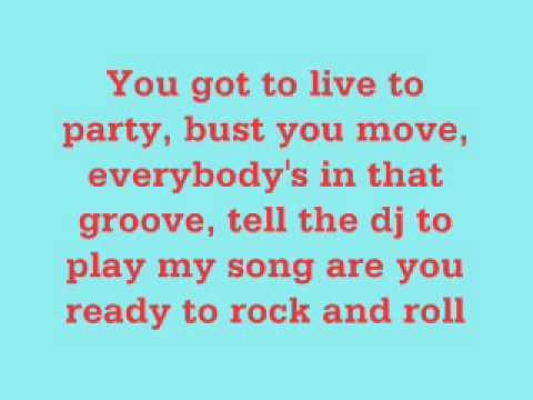 Live to Party - Jonas Brothers (Lyrics)