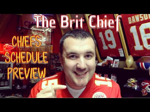 Chiefs Schedule 2018 Preview - The Brit Chief