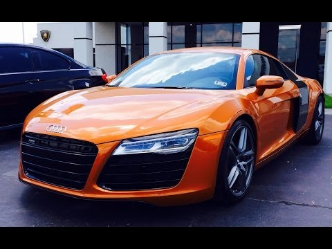 2014 Audi R8 4.2L V8 6-Speed Exhaust, Start Up & In Depth Review