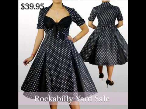 Rockabilly Dresses - Rockabilly Yard Sale! Super cheap Prices ...