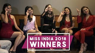 Miss India 2018 Winners In A Fun Interaction With POP Diaries | Exclusive Interview