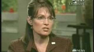 Palin Gibson ABC Interview - On National Security (major gaffe)