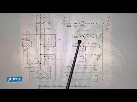 PMC - Cấu tạo mạch điều khiển động cơ 2 cấp tốc độ kiểu tam giác
