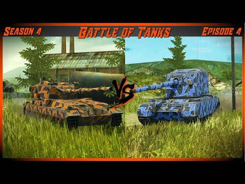 WOTB Battle of Tanks S4-4: FV215b 183 vs FV4005 (Who has the strongest gun?)
