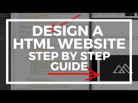 How to Design an Amazing Modern HTML Website - Fast!