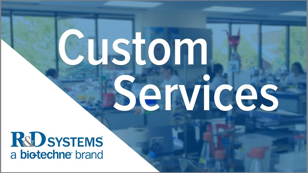 R&D Systems Custom Reagents & Contract Services - Bio-Techne