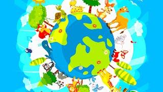 Zwierzęta dla dzieci - ZOO - Zwierzęta świata