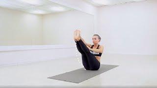 Красивый пресс  - йога для похудения