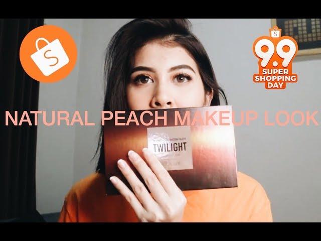 Natural Peach Makeup Look - Kesha Ratuliu