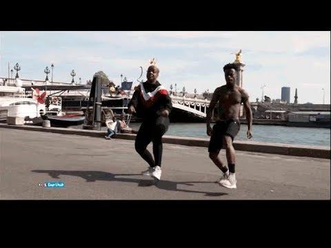 100% coupé décalé : Ordinateur et Zota en mode danse freestyle
