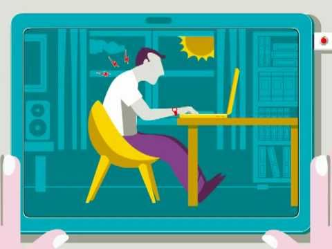 Laptop Ergonomics - Basic Tips - Adult Or Child Laptop Use At Home, Work Or School