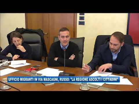 """15/01/2020 - UFFICIO MIGRANTI IN VIA MASCAGNI, RUSSO: """"LA REGIONE ASCOLTI I CITTADINI"""""""