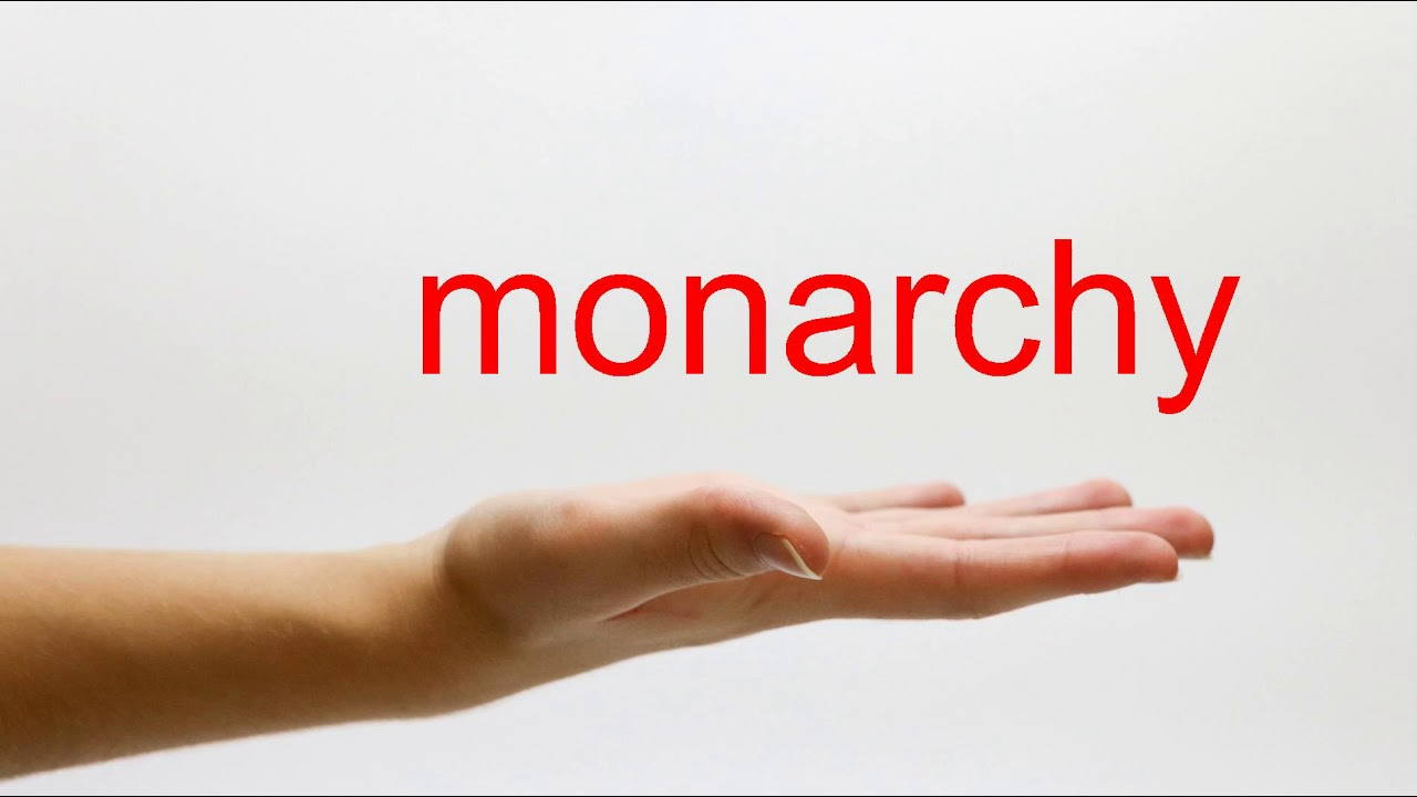 How to Pronounce monarchy - American English - YouTube