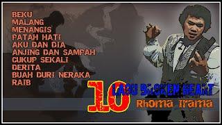 10 Lagu Broken Heart Rhoma Irama Volume I