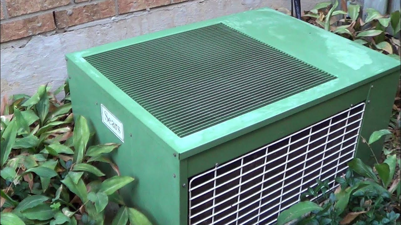 1982 Sears / KeepRite Central AC System - YouTube