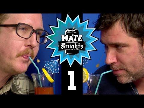 Mate Knights #001   Lars & Andreas gegen Uke & Ingo   1/2   24.01.2017