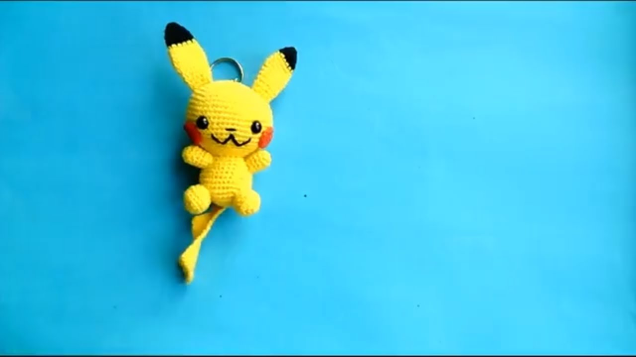 Kawaii Amigurumi crochet Pikachu pokemon plush | Etsy | 720x1280