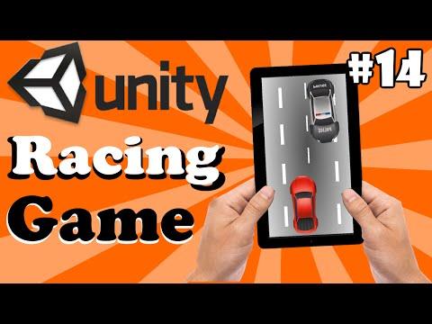 14.Unity Racing Game Development Tutorial-Creating Game Menu