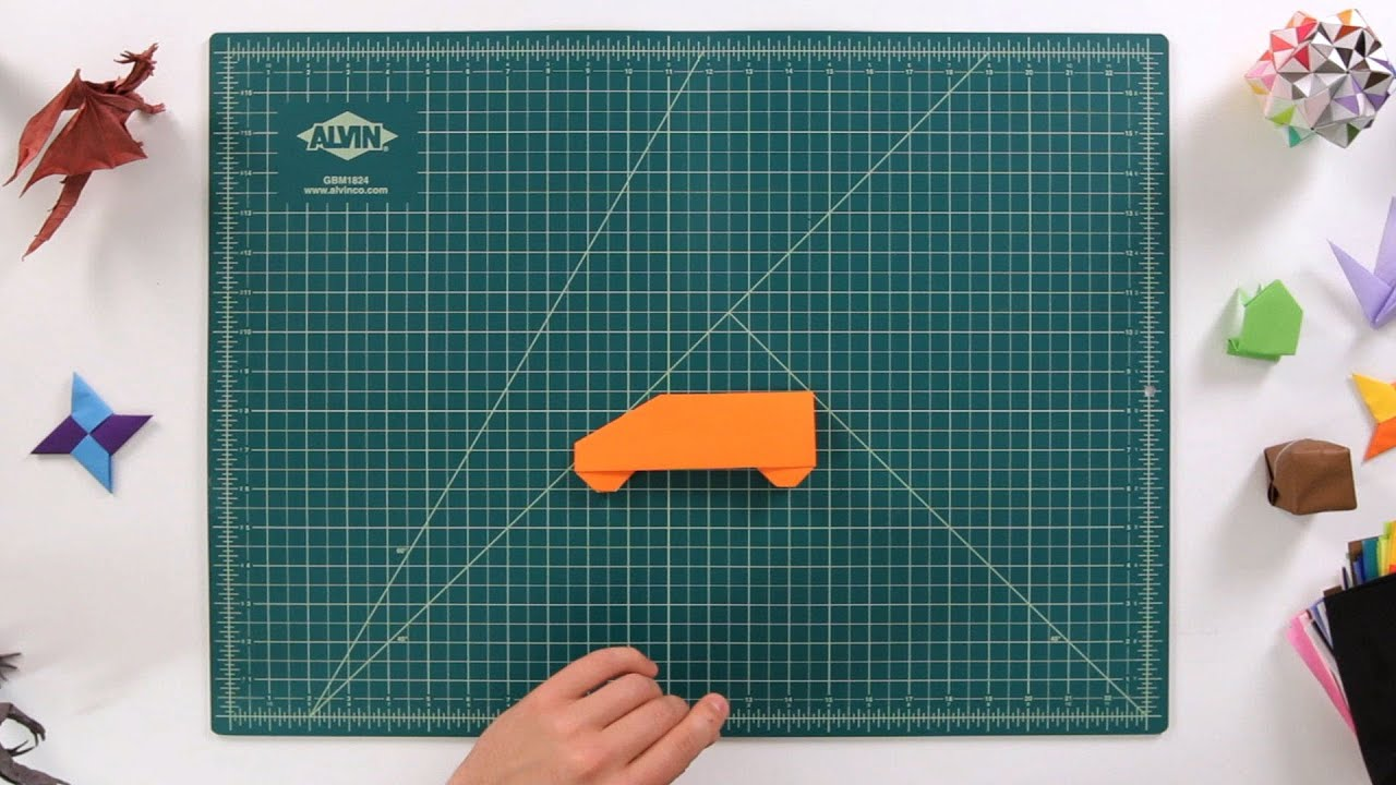 How to make a car origami youtube jeuxipadfo Choice Image